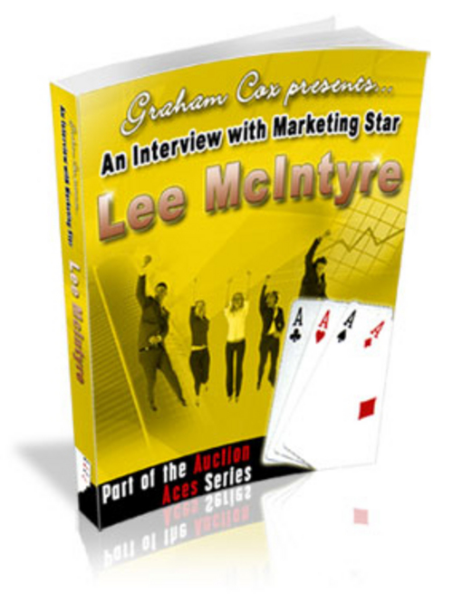 Product picture An Interview With eBay Marketing Star Lee McIntyre